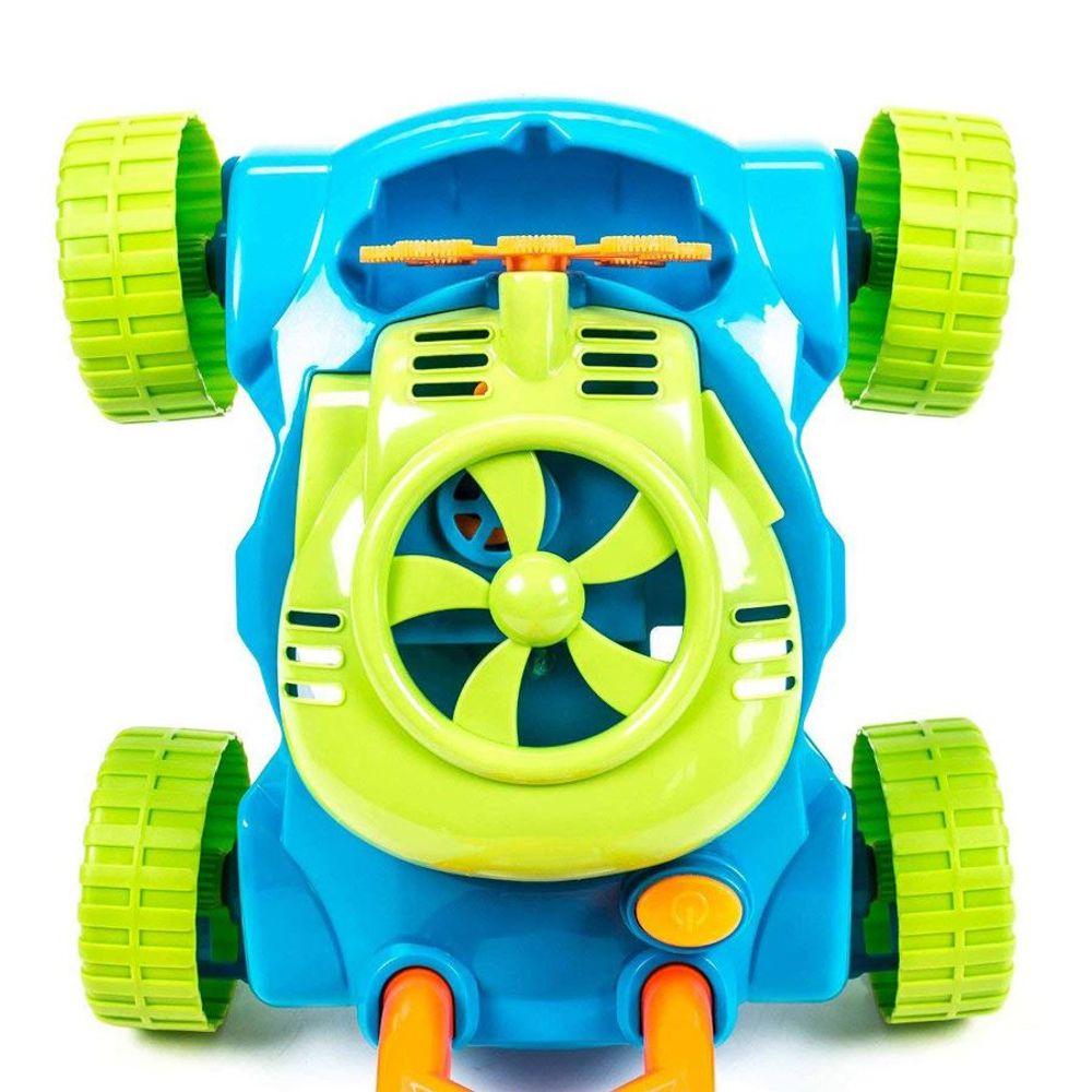 Bubblez Seifenblasen-Rasenmäher Seifenblasenmaschine Kinder Spielzeug Garten – Bild 3