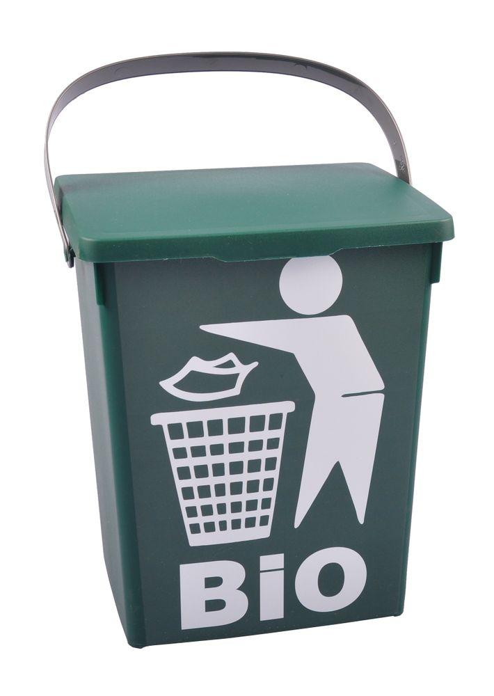 Dekoeimer 5L BIO Abfalleimer Komposteimer Bioeimer Biomüll Waschmittelbox Eimer