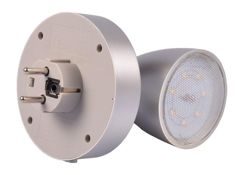 LED Spot Steckerleuchte Nachtlicht Steckdosenlampe Wandlampe Strahler Lampe  – Bild 6