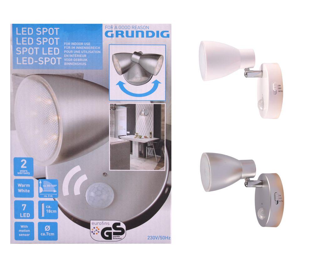 LED Spot Steckerleuchte Nachtlicht Steckdosenlampe Wandlampe Strahler Lampe  – Bild 1