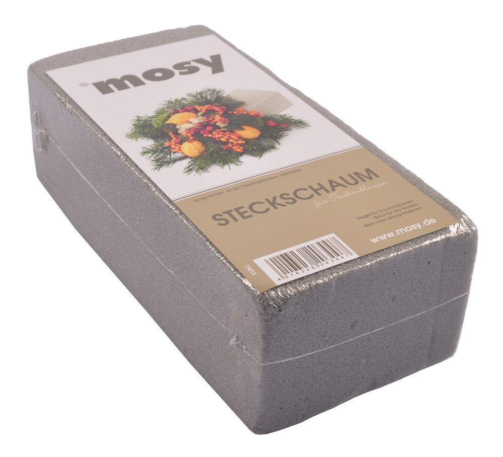 Mosy Steckschaum für Trockenblumen Blumensteckmasse Schaumziegel Steckziegel