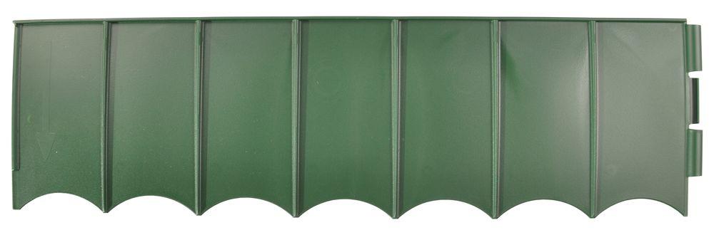 Rasenkante grün Beeteinfassung Mähkante Beetumrandung Raseneinfassung 2,7 m neu – Bild 2