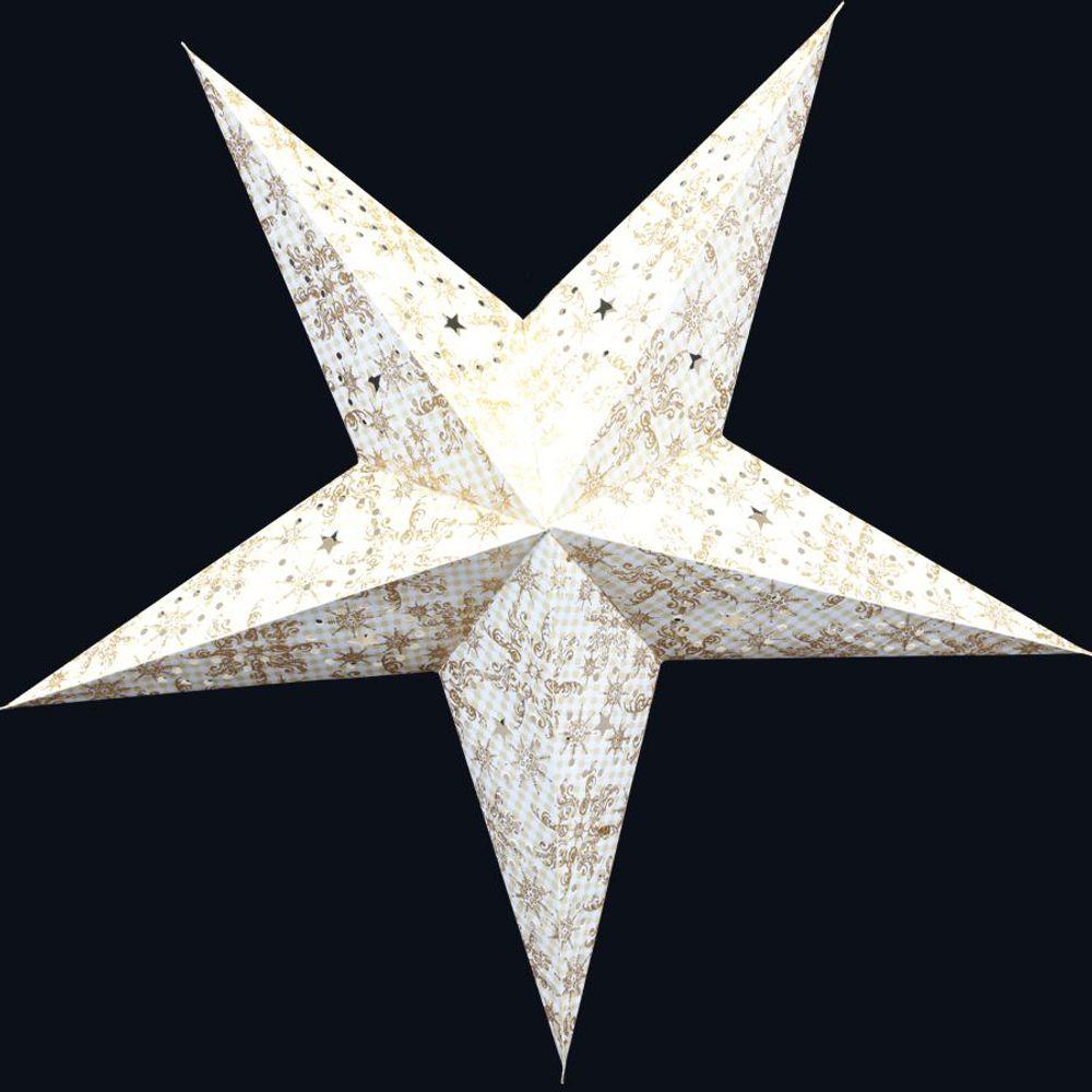 Weihnachtsstern 60cm Weihnachtsdeko Adventstern Leuchtstern Fensterdeko Stern – Bild 2