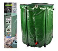 Regentonne 200L faltbar Wassertonne Wassertank Regenfass Wasserbehälter Tonne 001