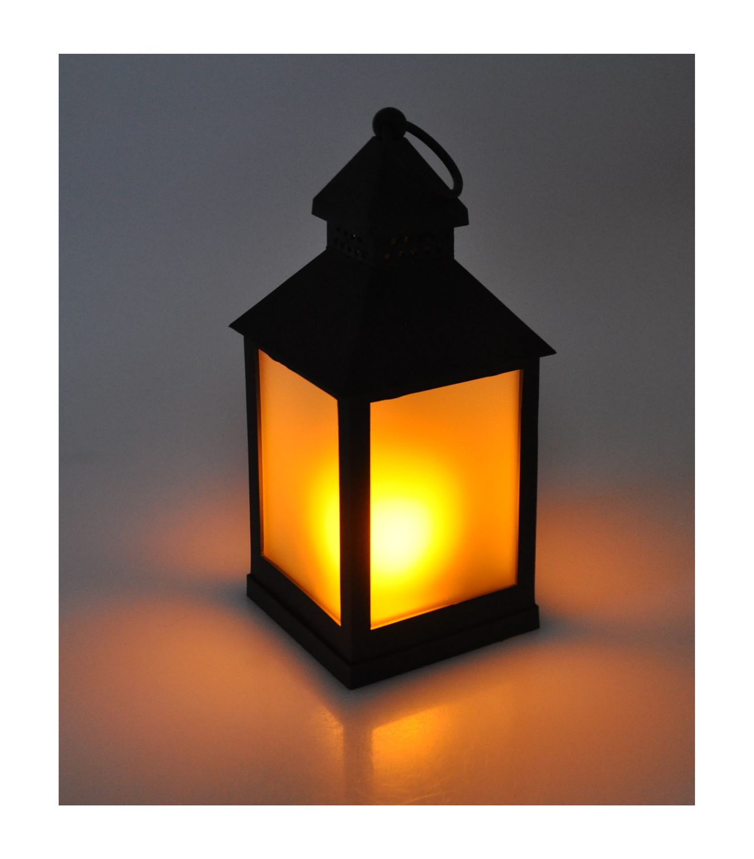 Led Lampen Weihnachtsdeko.Led Deko Laterne Flackereffekt Windlicht Tischdeko Leuchte Lampe Weihnachtsdeko