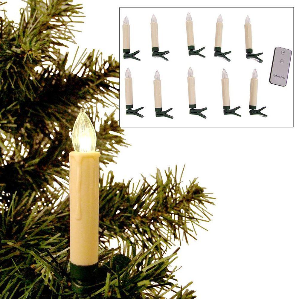 BURI® Weihnachtsbaum 180cm mit Weihnachtsbaumschmuck und Christbaumkerzen  – Bild 8