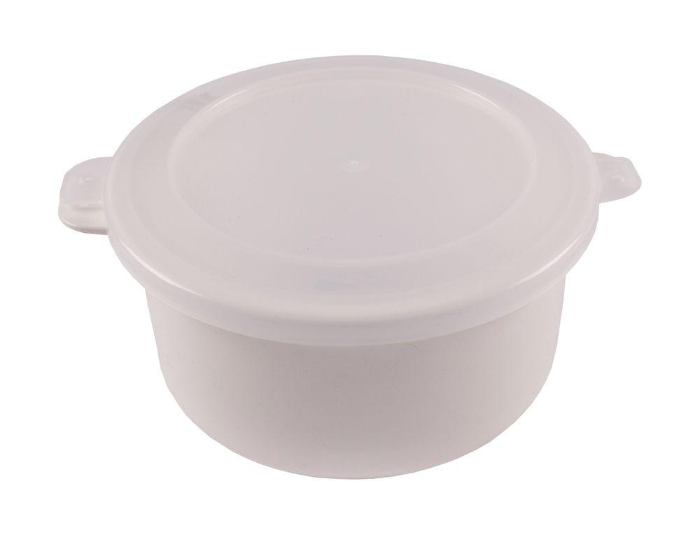 Mikrowellen Kasserolle 1,5L Mikrowellengeschirr Frischhaltedose Gefrierdose Topf