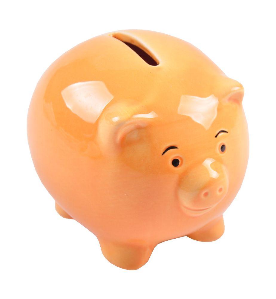 Süsses Sparschwein aus Keramik Spardose Sparbüchse Geldgeschenk Schwein Geldbox – Bild 5