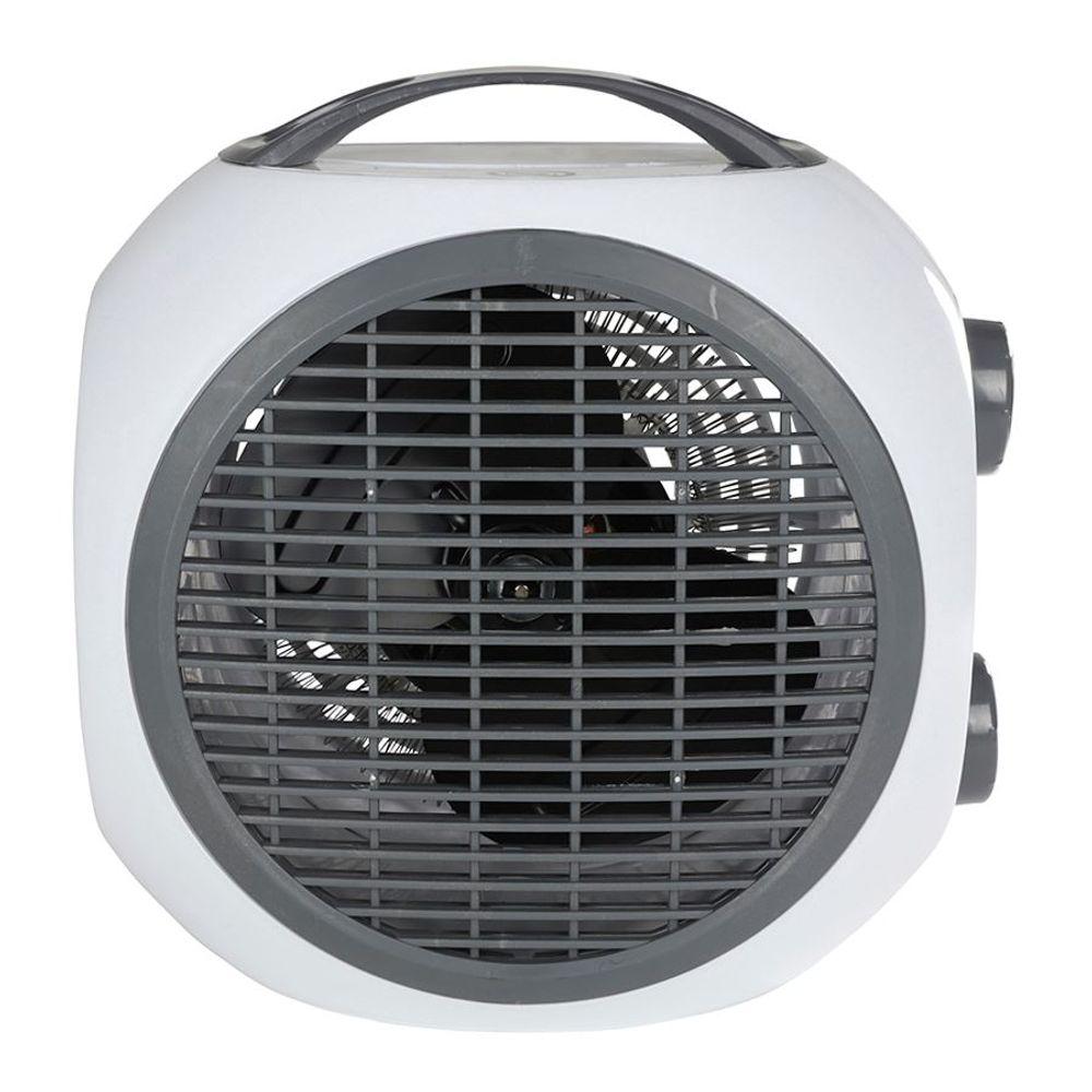 Mini Heizlüfter 2 Heizstufen Heizgerät Ventilator Elektroheizer Elektroheizung – Bild 3
