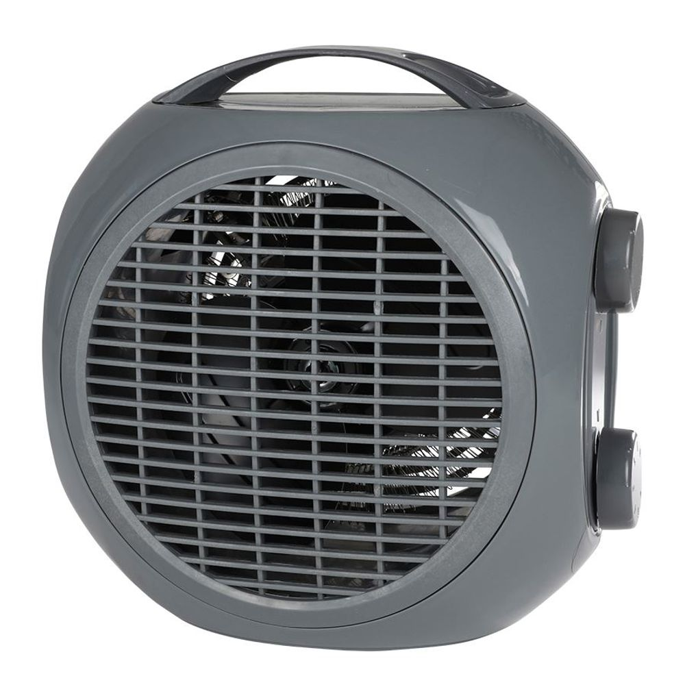 Mini Heizlüfter 2 Heizstufen Heizgerät Ventilator Elektroheizer Elektroheizung – Bild 4