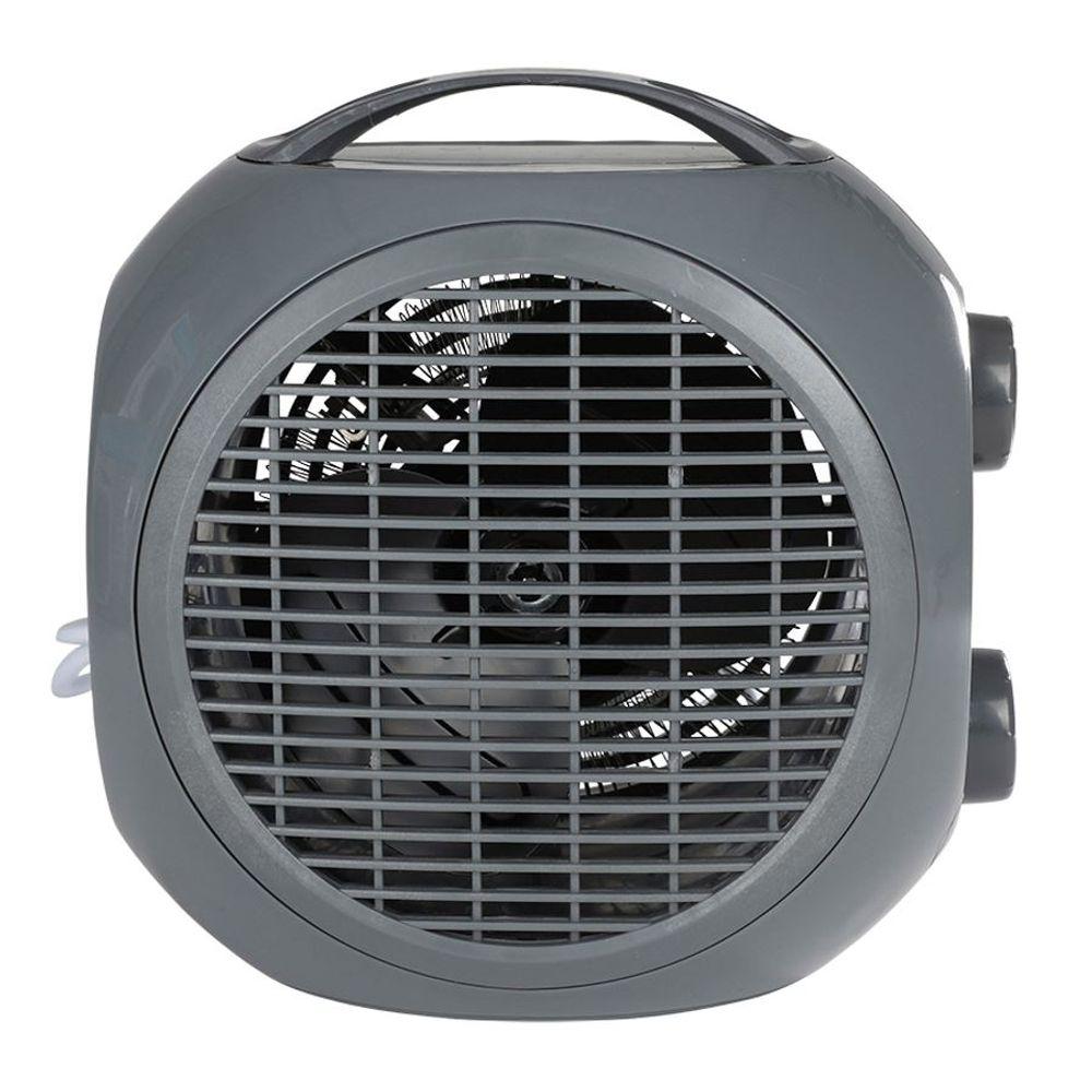 Mini Heizlüfter 2 Heizstufen Heizgerät Ventilator Elektroheizer Elektroheizung – Bild 5