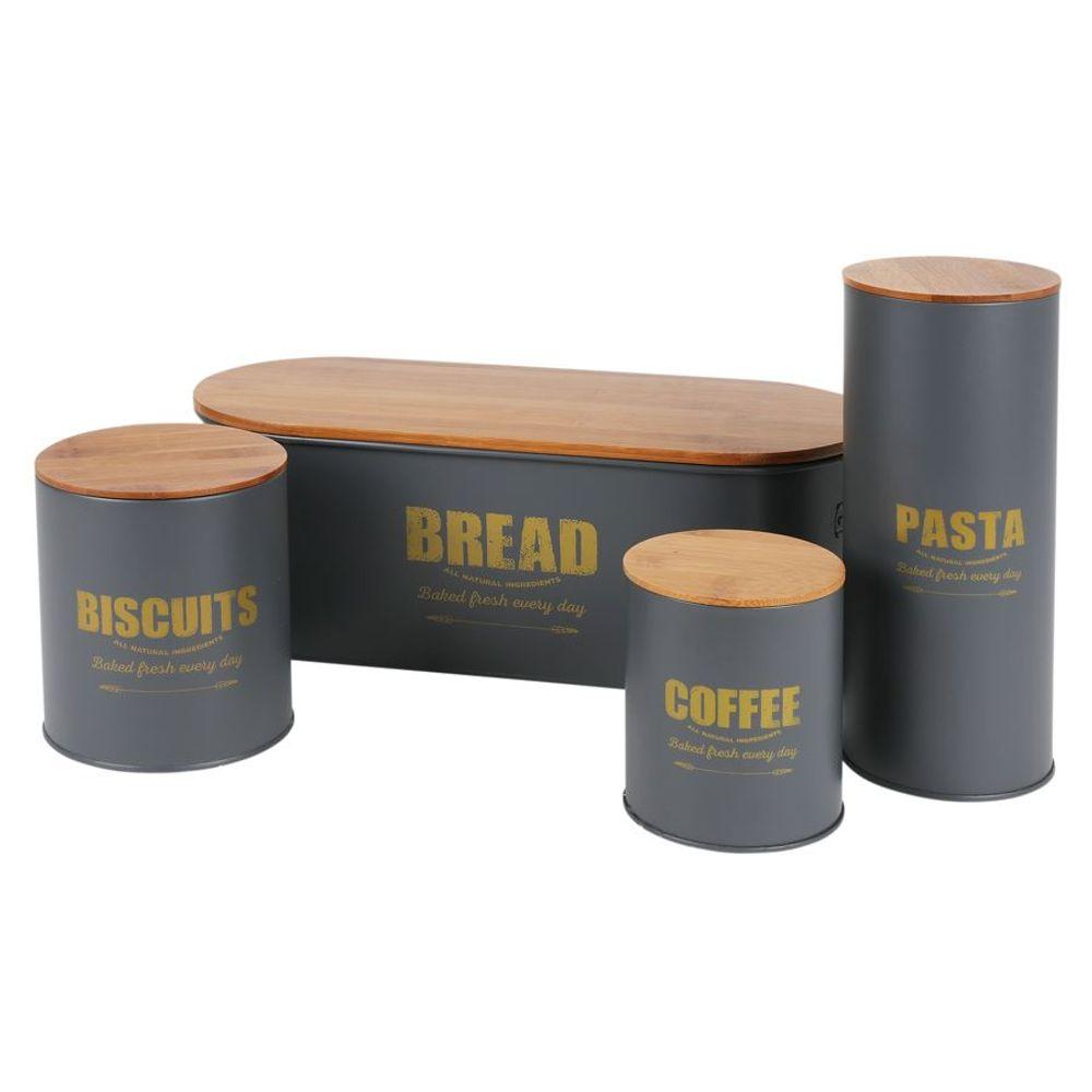 Vorratsdose Kaffeedose Teedose Zuckerdose Metalldose Aufbewahrungsdose Dekodose – Bild 5