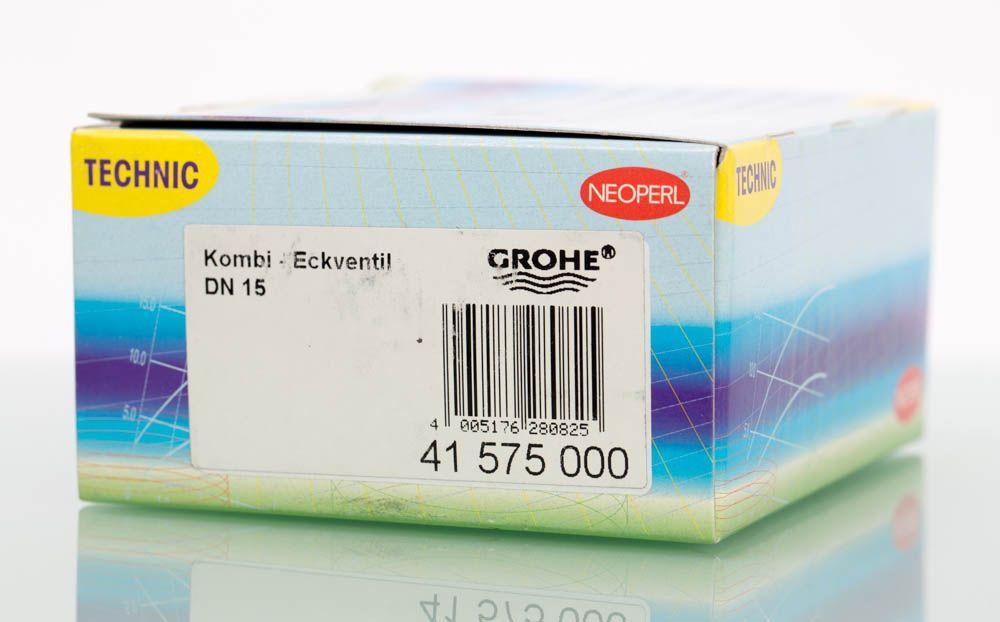 """Kombi-Eckventil DN 15 von Grohe Wandanschluss 1/2""""  – Bild 5"""