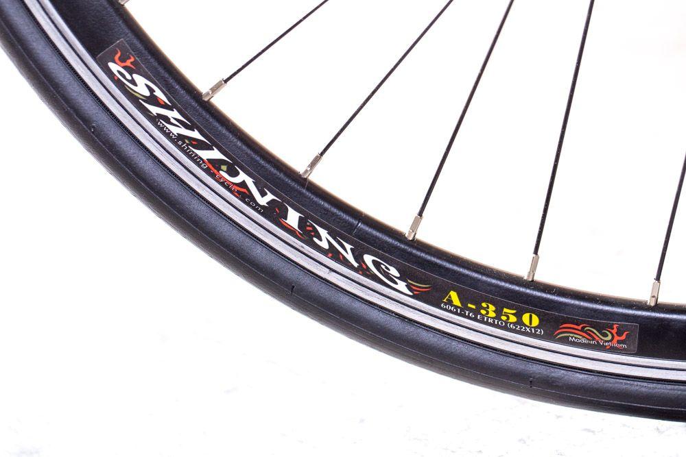Race Cycletool 28 Zoll Rennrad Shimano 14 Gang Straßenrennrad RH 56 cm – Bild 4
