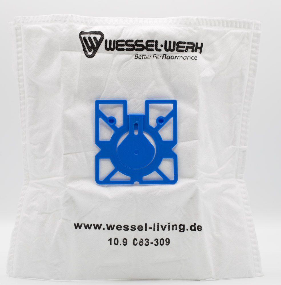 4x WM1 Wessel-Werk Swirl M40/M49 Staubsaugerbeutel WW108432  – Bild 3