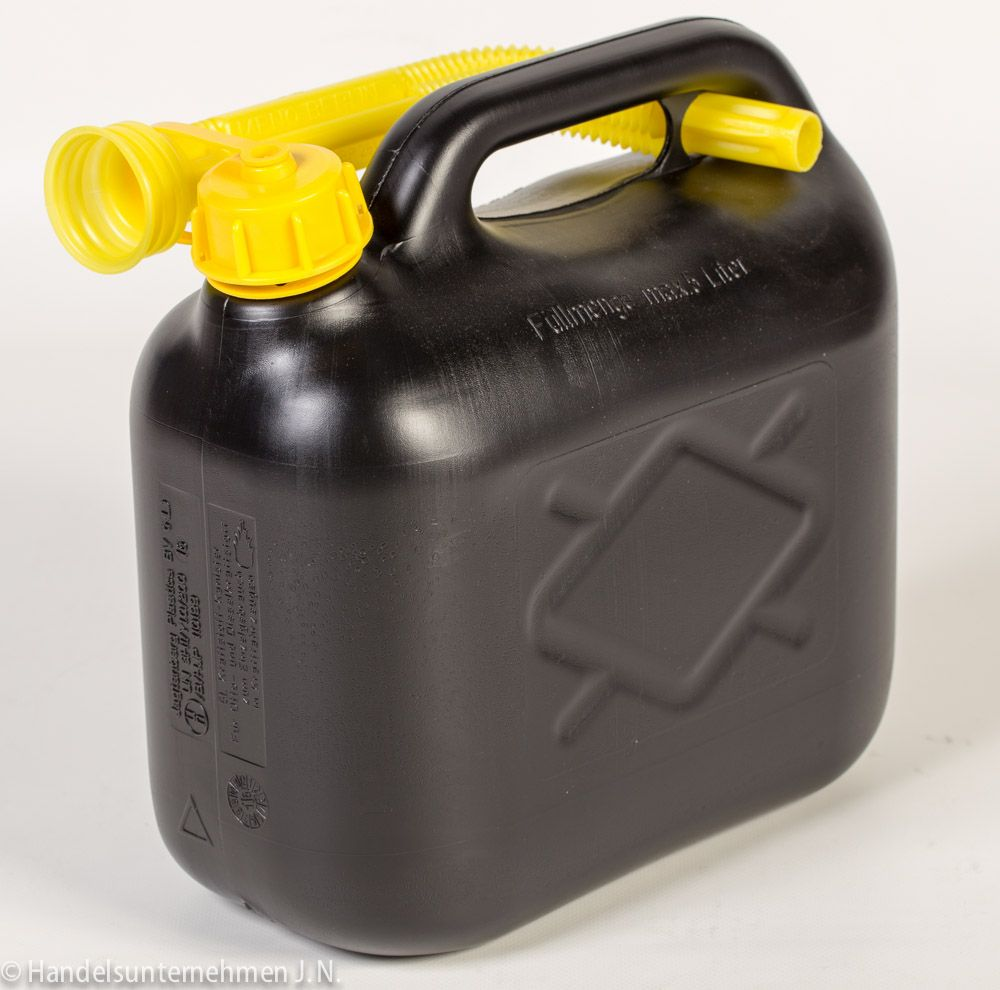 Kraftstoffkanister Benzinkanister Dieselkanister von Jagtenberg 5 Liter – Bild 1