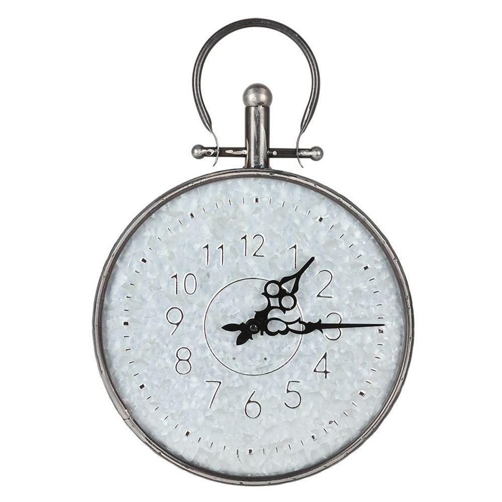 Retro Wanduhr 31,5cm Taschenuhr Design Küchenuhr Wohnzimmeruhr Baduhr Quartz Uhr – Bild 1