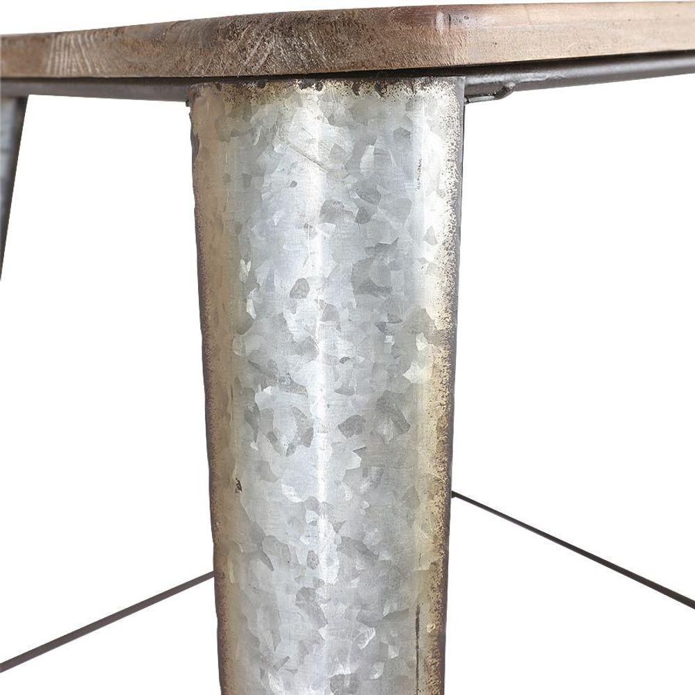 Vintage-Sitzhocker Kuh 2er-Set Beistelltisch Blumentisch Couchtisch Sitzbank  – Bild 4