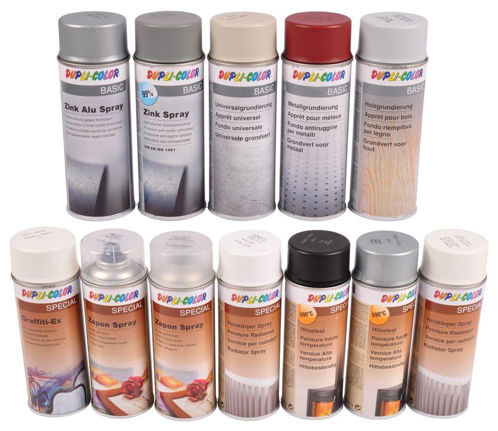 Dupli-Color Basic oder Special Sprühdose 400ml Grundierung Heizkörperspray  – Bild 1