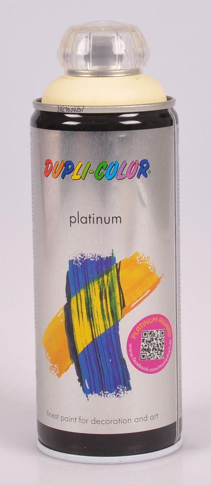 Dupli-Color Platinum Acryl Speziallack 400ml Lackspray matt glänzend Farbspray – Bild 5