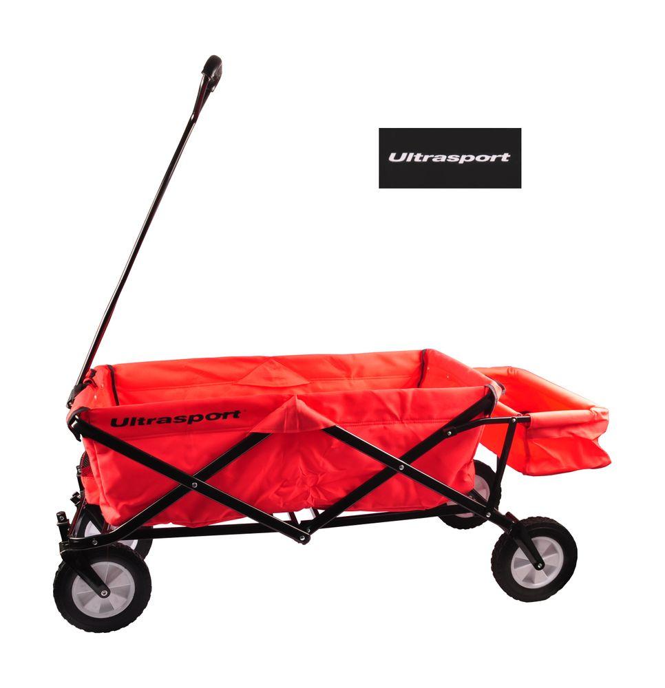 Ultrasport faltbarer Bollerwagen Strandwagen Picknickwagen Handwagen Handkarre – Bild 1