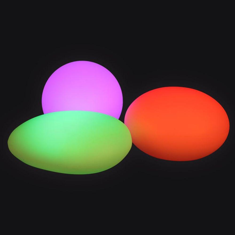 Solar-LED-Gartenleuchte Kugel 30cm Leuchtkugel Gartenlampe Farbwechsler Deko – Bild 5