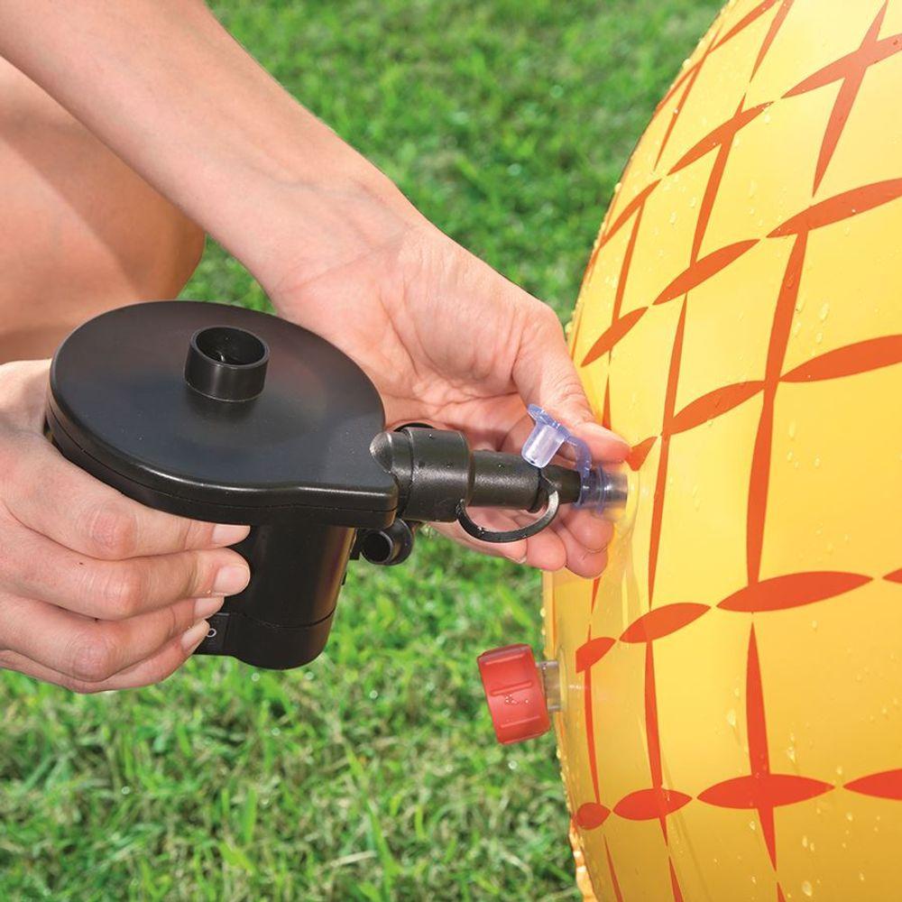 Bestway Wassersprinkler Ananas mit Wurfring Fontäne Wasserball Wasserspritze  – Bild 5