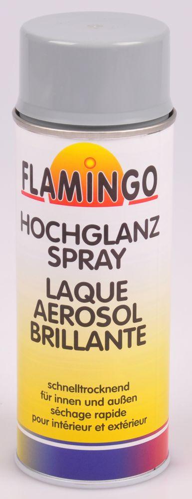 Flamingo Kunstharz-Lackspray 400ml Farbspray Sprühdose Lack matt glänzend – Bild 8