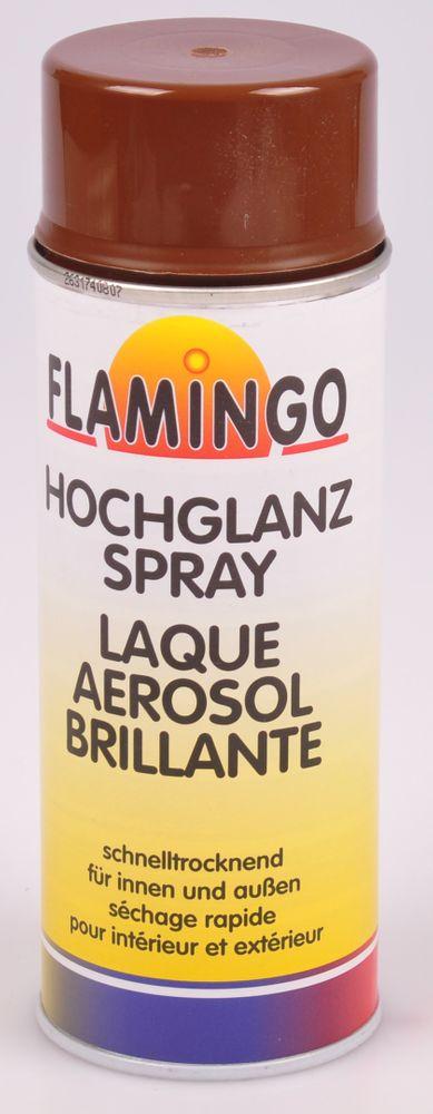 Flamingo Kunstharz-Lackspray 400ml Farbspray Sprühdose Lack matt glänzend – Bild 9