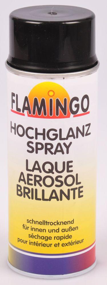 Flamingo Kunstharz-Lackspray 400ml Farbspray Sprühdose Lack matt glänzend – Bild 11