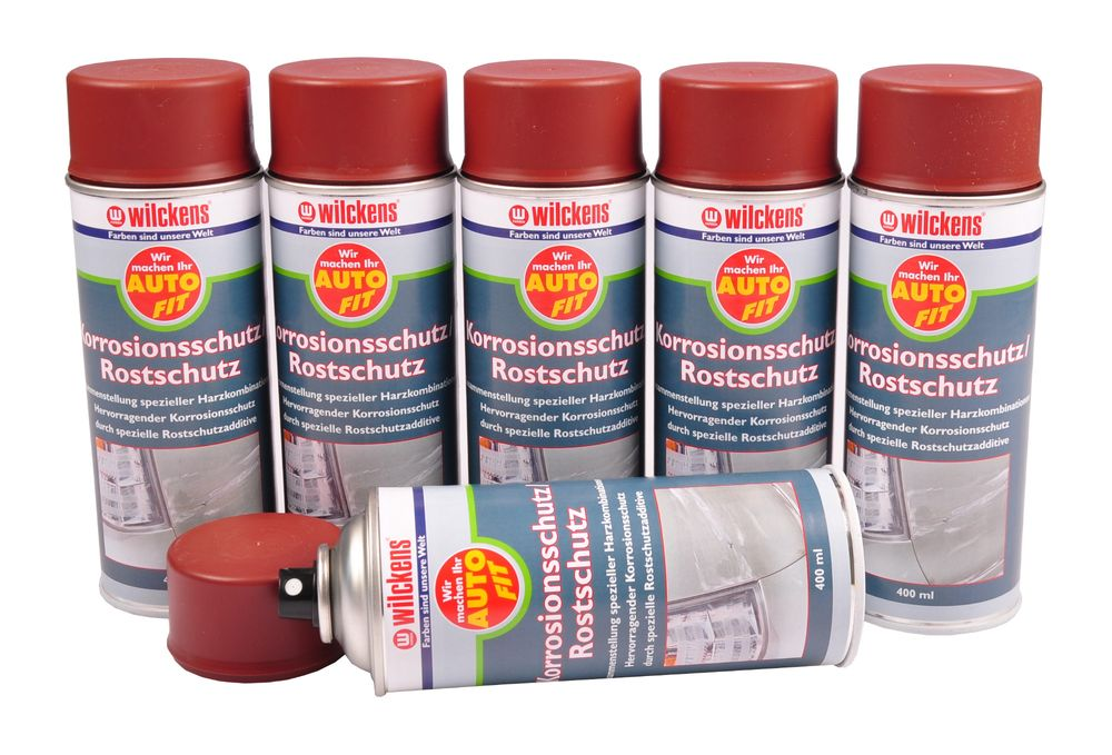 6x Wilckens Auto Fit Spray 400ml Rostschutz Haftgrund Felgen Lack Zink Alu Spray – Bild 7