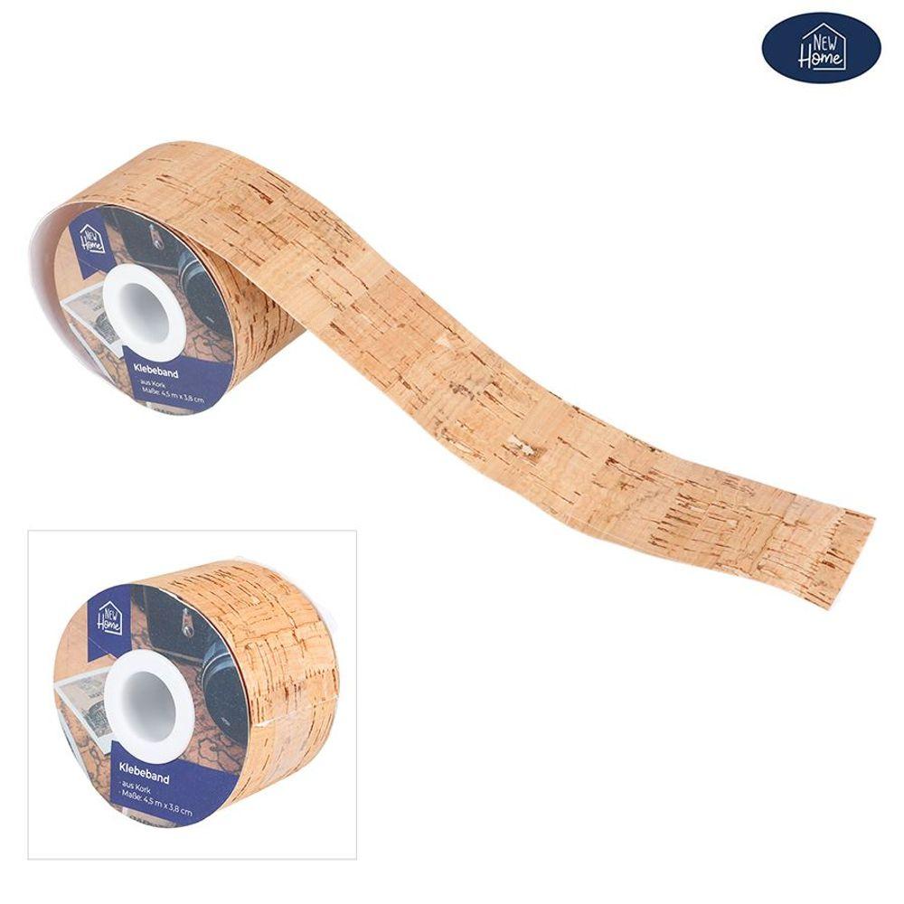 Klebeband aus Kork 4,5m Korkband Bastelband Dekoband Geschenkband Packband Band – Bild 1