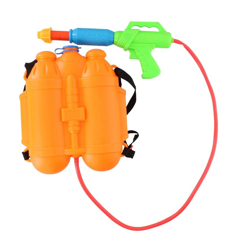 Wasserpistole mit Wasserbehälter 2,1L Wasserspritze Spritzpistole Wasserspiel  – Bild 4