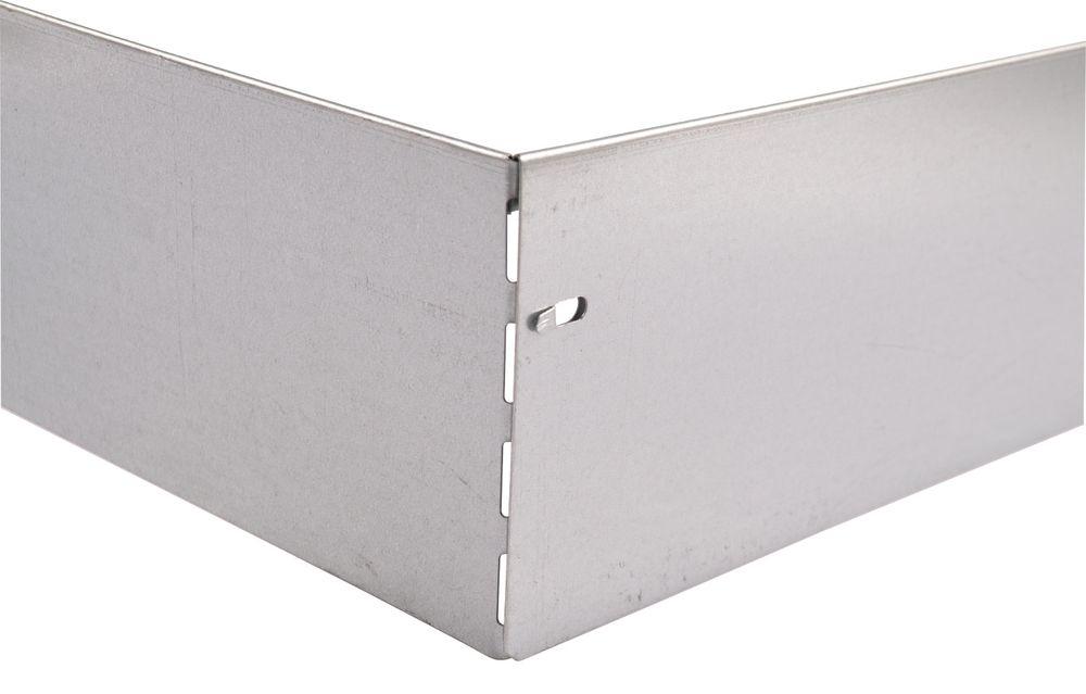 10x Bellissa Metall Rasenkante 118cm Beetumrandung Beeteinfassung Mähkante – Bild 5