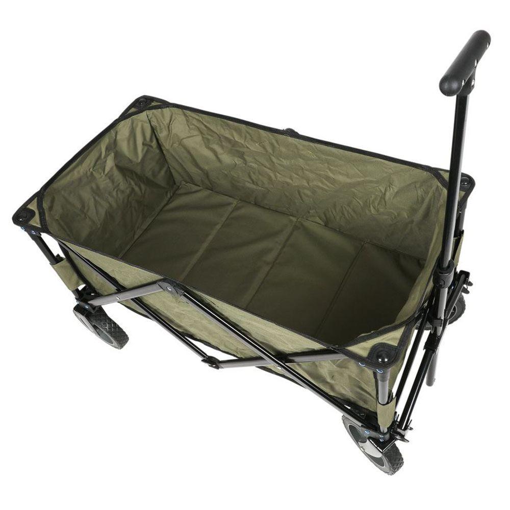 Stoffmatte für faltbaren Bollerwagen Ersatzmatte Sitzkissen Einlage Bodenplatte  – Bild 4