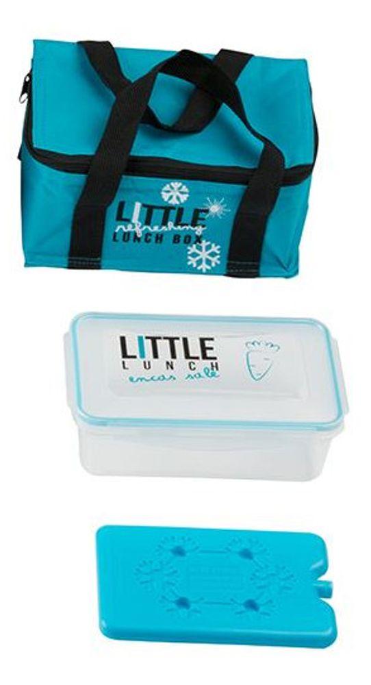 Mini-Kühltasche mit Brotdose und Kühlakku Brottasche Picknicktasche Lunchtasche – Bild 6
