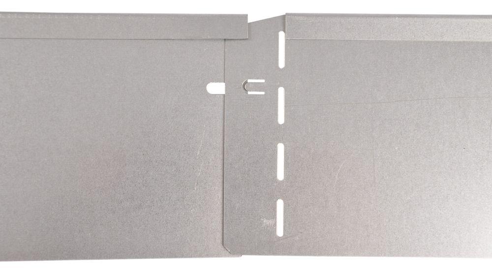 40x Bellissa Metall Rasenkante 118cm Beetumrandung Beeteinfassung Mähkante – Bild 2
