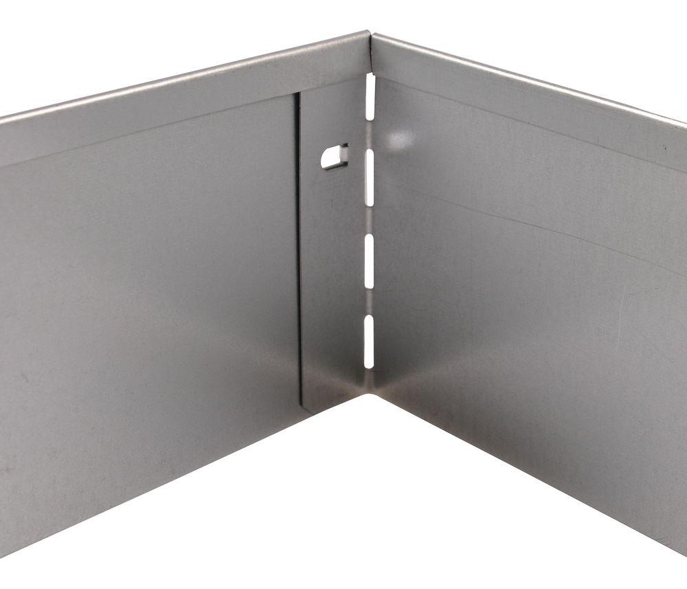 40x Bellissa Metall Rasenkante 118cm Beetumrandung Beeteinfassung Mähkante – Bild 6