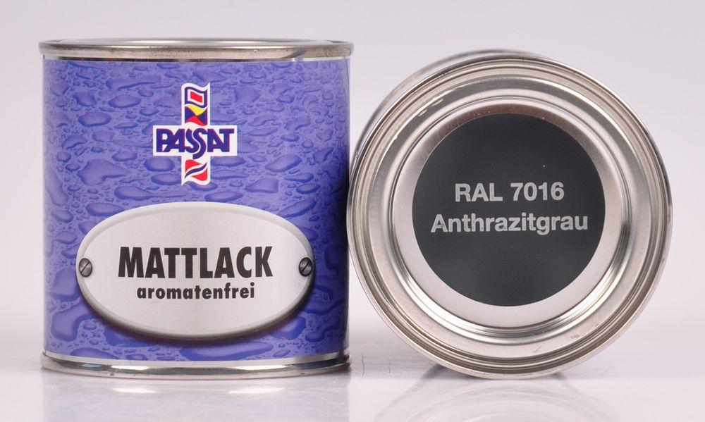 Passat Lack 250ml versch. RAL matt glänzend Holzfarbe Metallschutz Grundierung – Bild 3