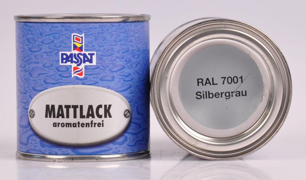 Passat Lack 250ml versch. RAL matt glänzend Holzfarbe Metallschutz Grundierung – Bild 6