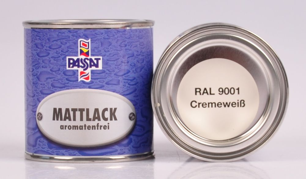 Passat Lack 250ml versch. RAL matt glänzend Holzfarbe Metallschutz Grundierung – Bild 8
