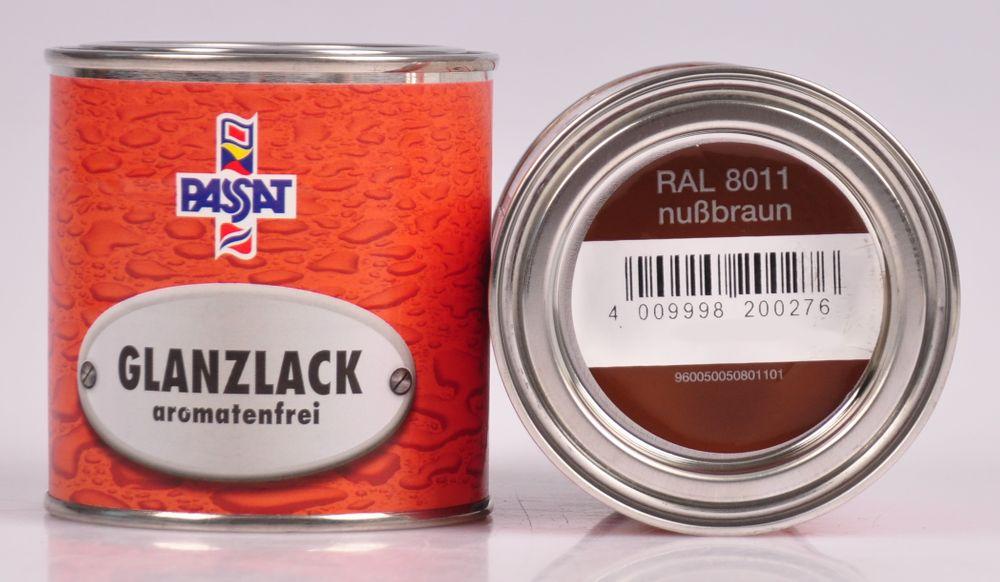 Passat Lack 250ml versch. RAL matt glänzend Holzfarbe Metallschutz Grundierung – Bild 15