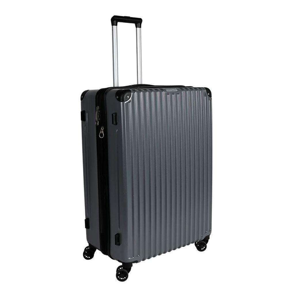 Hartschalen-Reisekoffer-Set grau Hartschalenkoffer Trolley Koffer Reisetasche – Bild 10