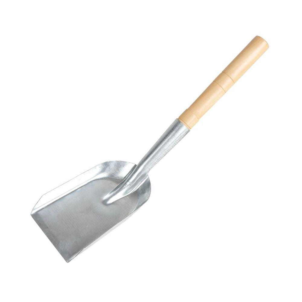 Hand Schaufel verzinkt Ascheschaufel Kohleschaufel Metallschaufel Gartenschaufel – Bild 1