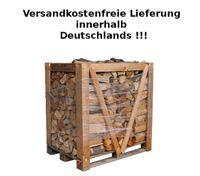 Kaminholz Esche trocken 1 RM auf Palette deutschlandweiter Versand Brennholz  001