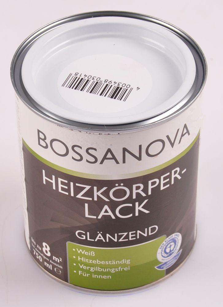 Acryl Heizkörperlack 6x 0,75 L glänzend weiß Heizkörper Decklack hitzebeständig – Bild 2