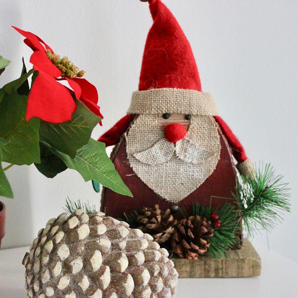 Deko-Tannenzapfen 14,5x10,5cm Tischdeko Weihnachtsdeko Herbstdeko Winterdeko  – Bild 3
