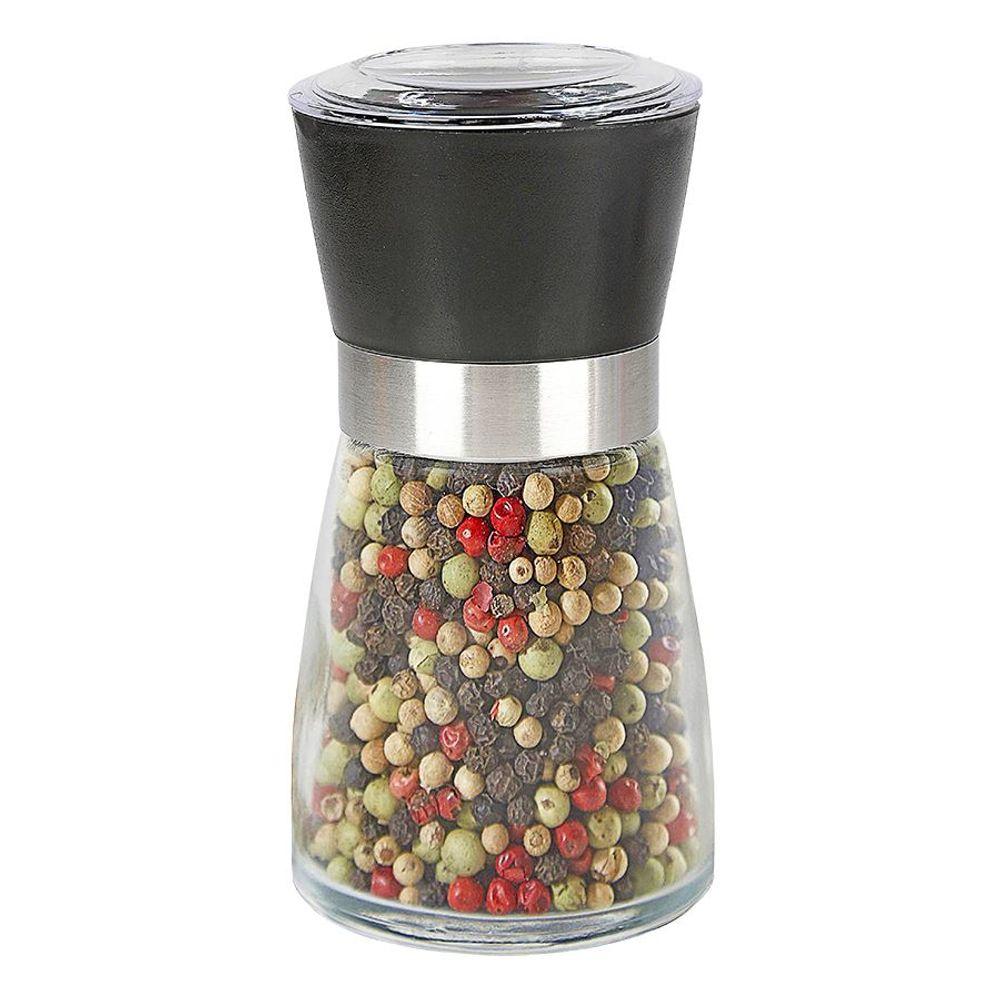 Gewürzmühle aus Glas Pfeffermühle Salzmühle Gewürzbehälter Salz-/Pfefferstreuer – Bild 1