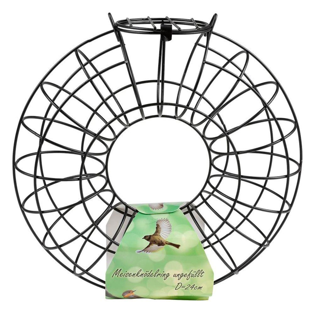 Meisenknödelring 24x8cm Vogelfuttersäule Vogelfutterstation Vogelfutterspender  – Bild 3
