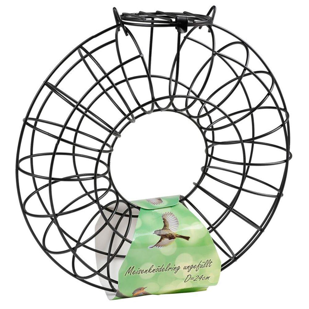 Meisenknödelring 24x8cm Vogelfuttersäule Vogelfutterstation Vogelfutterspender  – Bild 1